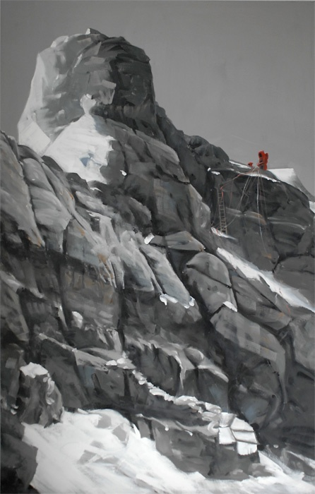 Second Step on Mount Everest, Collection Reinhold Messner MMM Corones